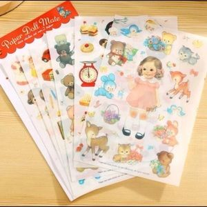 Other - Doll Sticker Packs of 6 pcs